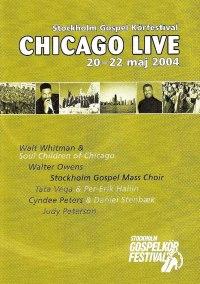 DVD 2004 - Chicago Live - 2004 - Chicago Live DVD