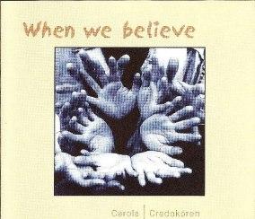 When we believe - cdsingel - When we believe - cdsingel