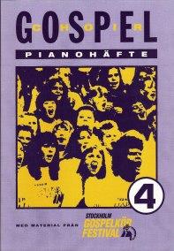 Gospel 4 pianohäfte - Gospel 4 pianohäfte