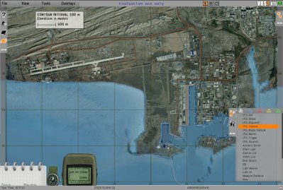Bandar Abbas:VBS2 overheadmap