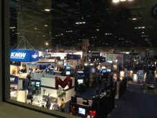 The view from the VIP lounge during the I/ITSEC 2014