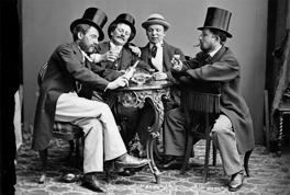 Tullvännerna firade segern i andrakammarvalet 1887 med middag till priset 11 kr 58 öre.