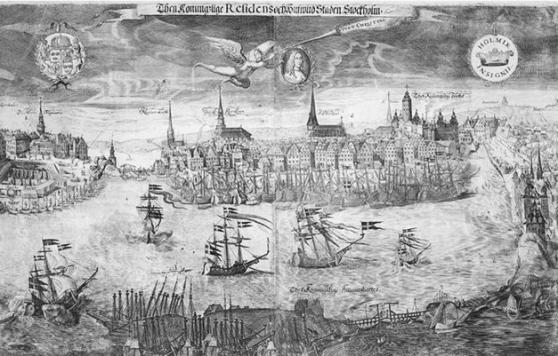 Drottning Kristinas sluss 1642