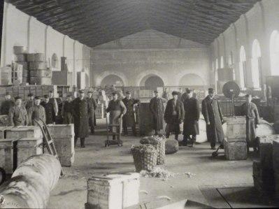 Lilla Tullhuset, Stadsgården, Stockholm. Foto från ca 1900.