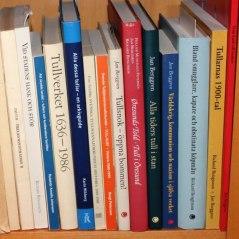 Böcker om tullhistoria
