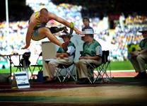 Paralympics Sydney 2000, frilans, publicerad bla i Svensk Idrott