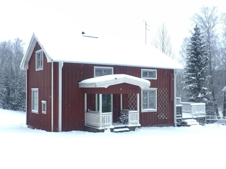 Grannen Bosses hus som är ett likadant som vårt, gav inspiration om hur fint man kan göra.