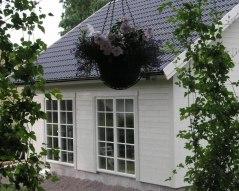 Lilla vita huset, baksidan.