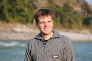 Björn Södreberg, CSR-entreprenör från Fair Enterprise Network, inspirerade en hel dag på MATIX.      (Foto: BS)