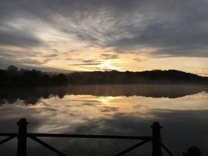 vacker morgon i närheten av Öijared