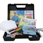 Encaustic Studio - Startset i väska (Beställningsvara)