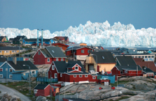 Ilulissat, Grönland. Bild från www.gronlandsresor.se