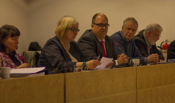 Ledamöter ur NFS styrelse. Foto:NFS