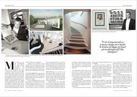 Design © Arkitekt Pål Ross - Kungl.mag. mars 2013 artikel sid 2-3