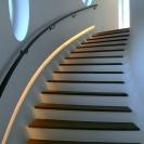 Design © Arkitekt Pål Ross - Trappa med ljuslist