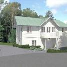 Design © Arkitekt Pål Ross - Villa Rehact 1 Exteriör 01