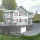 Design © Arkitekt Pål Ross - Villa Rehact 1 Exteriör 02