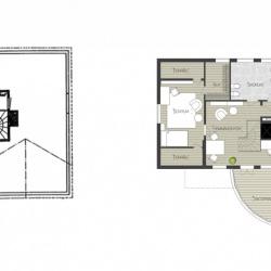 Design © Arkitekt Pål Ross - ÖVERVÅNING FÖRE OCH EFTER