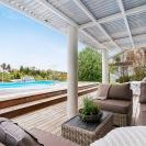 Design © Arkitekt Pål Ross - Villa Maria Altan med pool