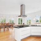 Design © Arkitekt Pål Ross - Villa Maria Kök mot matsal
