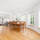 Design © Arkitekt Pål Ross - Villa Maria Matsal och vardagsrum