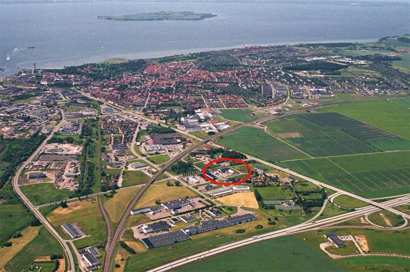 Vi finns mitt i Öresundsregionen, klicka på bilden för större format.