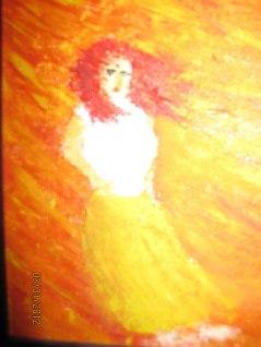 Stormkvinna som står emot