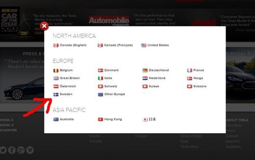 Dags att beställa sin svenska Model S