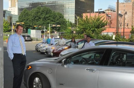 Gratis laddning på jobbet sätter fart på elbilsanvändandet