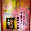Art is art 100x125 cm