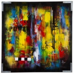 Power 100x100 cm linne canvas