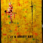 It´s about art 80x100 cm Akryl