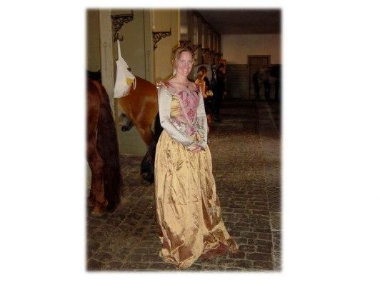 Birgitta i gamla stallet vid Fredriksborgs Slott