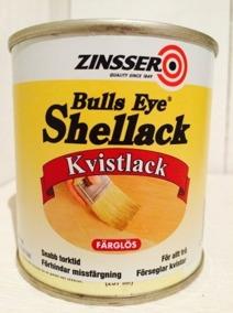 Zinsser,kvistlack, schellack. - Kvistlack, 250ml