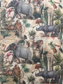 Decoupage papper, elefanter m.m - Decoupage papper, elefanter