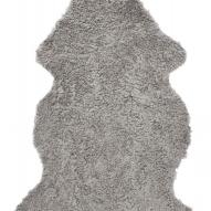 Curly Rug Natural grey