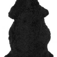 Curly Rug Black