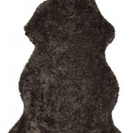 Curly Rug New brown mellange