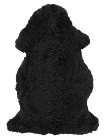 Curly Rug Black - Curly Rug Black