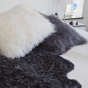 Curly Rug Black