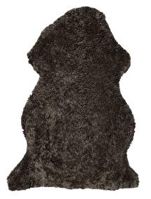 Curly Rug New brown mellange - Curly Rug New Brown Melange