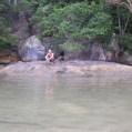 caveman in the lagun