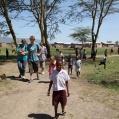 school yard in Mtowambu