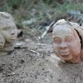 Sculptures in Bagamoyo