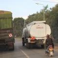 traffic danger in Tanzania