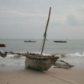 fiskebåt i bagamoyo