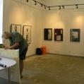 preparing exhibition #7073A