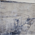 """""""Saltvann"""", 1m x 1m, Ingrid Forfang"""