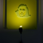Ingrid Forfang- Skyggemaleri Anna Frank w