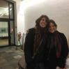"""Lieve Maas, god venn fra første øyeblikk,  fløy fra Portland for å delta i """"Duikboot"""" Vi studerte sammen i """"klas96"""""""